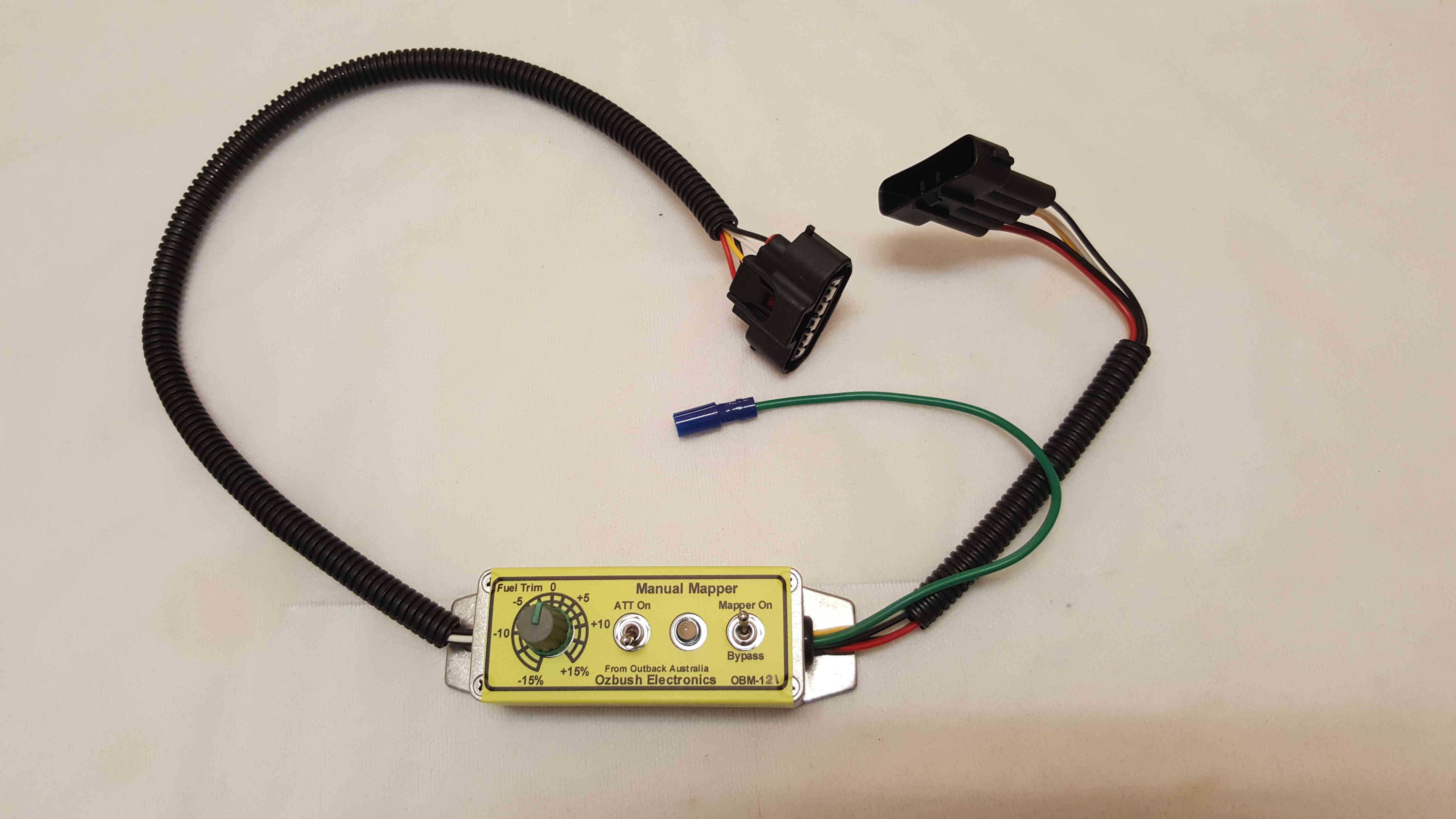Ozbush Electronics Products And Purchase Info Fuel Trim Wiring Diagram Fully User Programmable Att Artifical Turbo Boost Function To Inject More For Acceleration Then Return